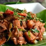 finished panang curry recipe